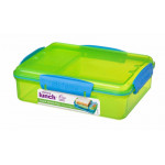 Sistema Lunch Snack Attack Duo, 975 ml, Assorted Colours