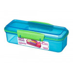 Sistema Lunch Snack Attack, 410 ml - Assorted Colours