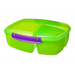 Sistema Trends Triple Split Lunchbox - 2L