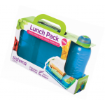 Sistema Snack Attack Duo and Twist SIP Bottle Lunch Pack 330 Ml Assorted Colours