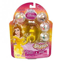 Squinkies Disney Princess Belle Surprize Bracelet Bubble Pack
