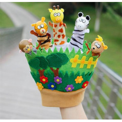 Kids Toys Finger Puppets - Animals