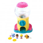 Squinkies Twister Gum Ball Dispenser with 5 Squinkies!