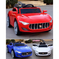 Motor Car Maserati (6V), Red/ White/ Blue
