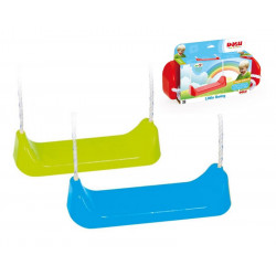 Dolu Children's Outdoor Garden Swing Seat With Rope And Mounting Rings