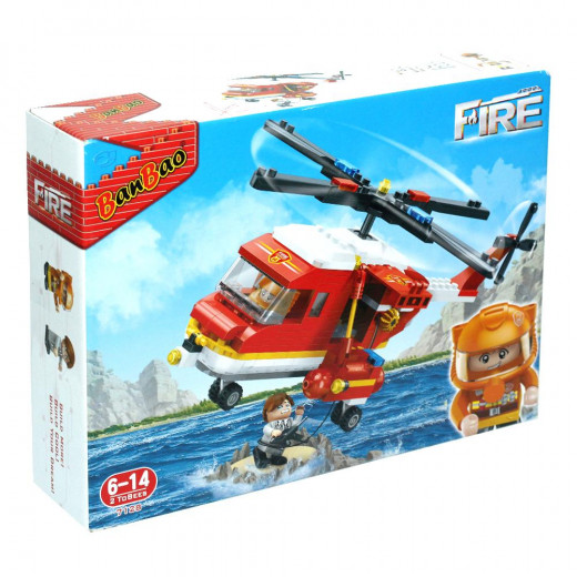 Banbao Helicopter Fire (306 Pieces)