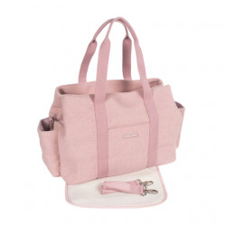Pasito a Pasito Bohemian Pink Nappy Bag with Changing Pad