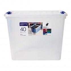 Sistema 40 Litre Storage Bin