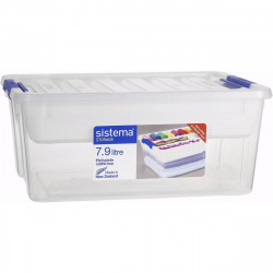 Sistema Storage Box With Tray 7.9 Liter