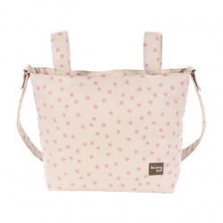 Small Changing Bag Star Pink