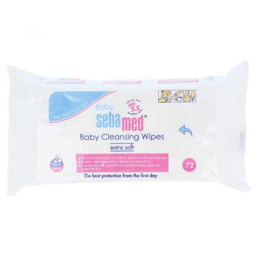 Sebamed Baby Cleansing Wipes 72