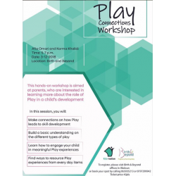 Play Connections Workshop