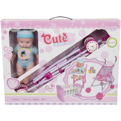 Baby Doll Nursery Room Set