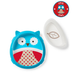 Skip Hop Zoo Smart Serve Plate & Bowl Bee