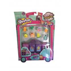 Shopkins World Vacation - Boarding to Europe S8- 4 Blocks