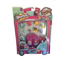 Shopkins World Vacation - Boarding to Europe S8- 2 Blocks