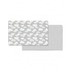 Skip Hop Doubleplay Reversible Play Mat Clouds
