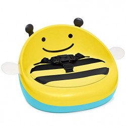 Skip Hop Zoo Booster Seat, Yellow Bee
