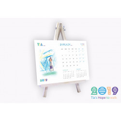 Tia's Hope to Walk Calendar