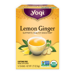 Yogi Tea, Lemon Ginger Tea 36 g