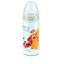 Nuk Disney First Choice Bottle 300ml - Grey (0-6 Months)