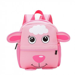 Kids School Pink Sheep Kindergarten Back Bag