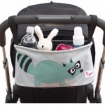Genioworld Stroller Organizer for Baby and Mother staff - Raccon