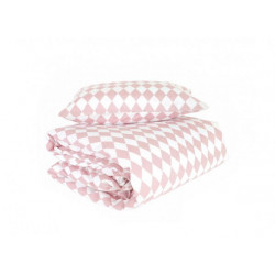 Nobodinoz Toronto Duvet Single (Pink Diamonds)