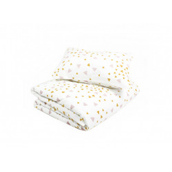 Nobodinoz Toronto Duvet Single (Pink Honey Sparks)