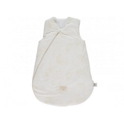 Nobodinoz Cocoon Sleeping Bag Gold Bubble/ White (Large)