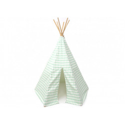 Nobodinoz Arizona Teepee (Green Diamonds)