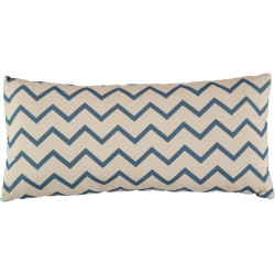 Nobodinoz Averell Cushion (Zig Zag Blue)