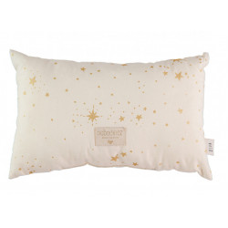 Nobodinoz Laurel Cushion (Gold Stella/ Natural)