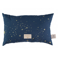 Nobodinoz Laurel Cushion (Gold Stella/ Night Blue)