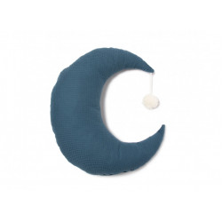 Nobodinoz Pierrot Moon Cushion (Night Blue)
