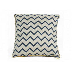 Nobodinoz Venus Cushion (Zig Zag Blue)