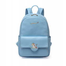 Colorland Diaper Bag Fashion Multi functional Double Shoulder Unicorns Embroidered Mommy Bag - Blue