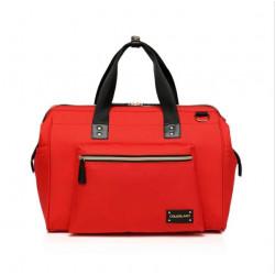 Colorland Diaper Bag Tote - Red