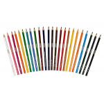 Crayola 24 Long Coloring Pencils, Assorted Colors