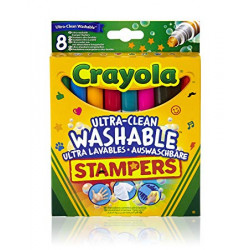 Crayola 8 Animals Mini Stampers - Washable