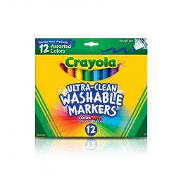 Crayola 12 Ultra-Clean Washable Markers