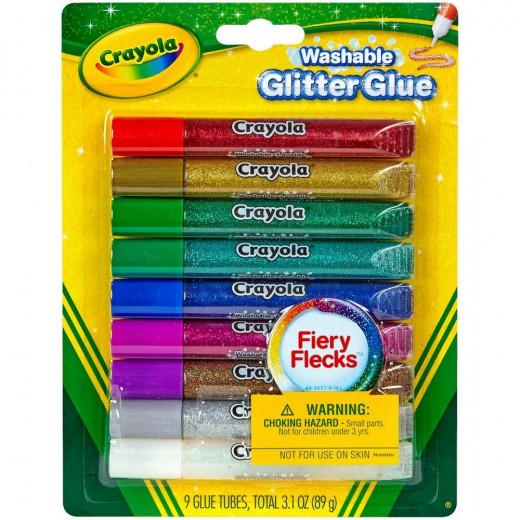 Crayola Glitter Glue 9 Count