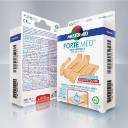 Master Aid Forte Med Strip, 40 Pieces 5 Different Sizes