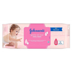 Johnson's Baby Gentle All Over Baby Wipes 56