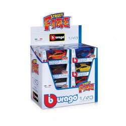 Bburago Street Fire Car Assortments