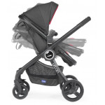 Chicco Urban Plus Crossover Stroller Body Only, Black