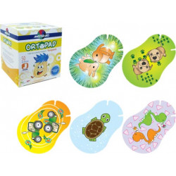 Master Aid Ortopad Fun Pack Eye Patches - Junior Size (50 Per Box)