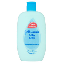 Johnson's Baby Bath 300ml (Made in Britain).