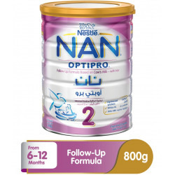 Nestle Nan 2 Optipro Follow-up Formula Milk - 800g