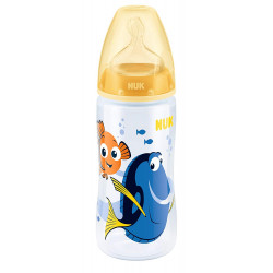NUK Finding Dory First Choice+ 300ml Bottle with Silicone Teat 6-18 Months